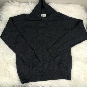Frank & Oak wool shawl neck sweater 976